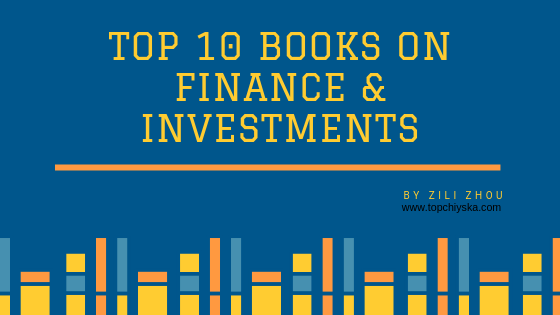 Top 10 books on finance and investment