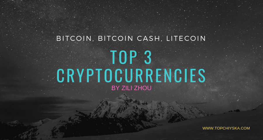 top 3 cryptocurrencies